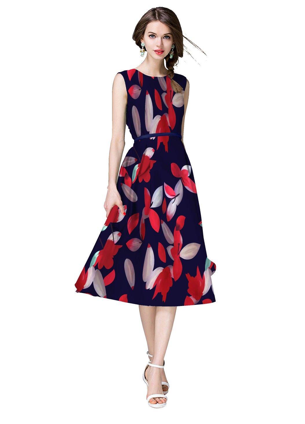 0b897d03e2cb Sirene Fashion Premium Satin Western Dress. Price  850INR Size  S