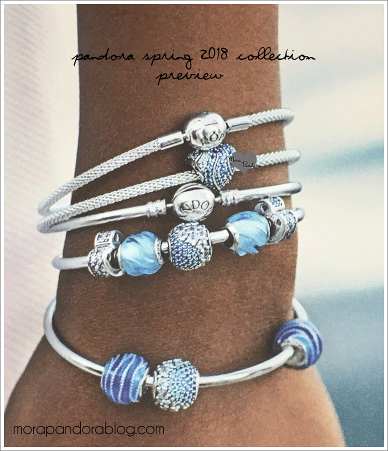 Pandora Jewelry Collection: Hot On The Heels Of My Initial Pandora Spring 2018 Sneak
