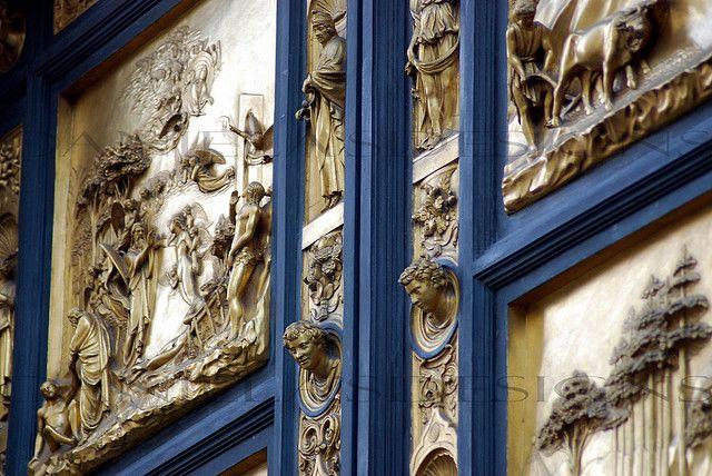 GOLDEN FLORENCE DOORS   Gold door, Duomo florence, Italian ...