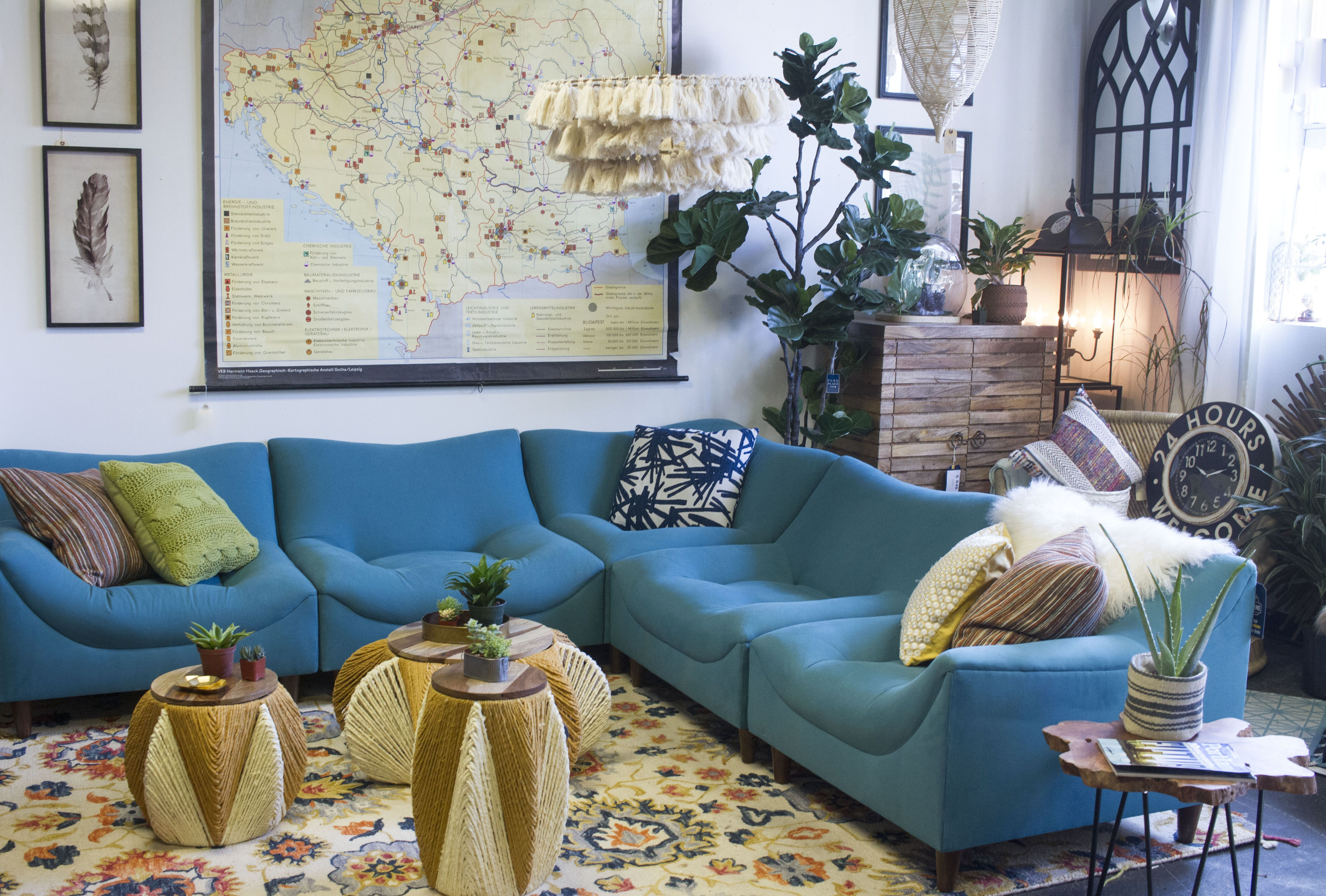 The Jungalow Room At City Home In Portland Oregon With All Things Bohemian Plants Bohemian Furniture Eclectic Decor Furniture Decor