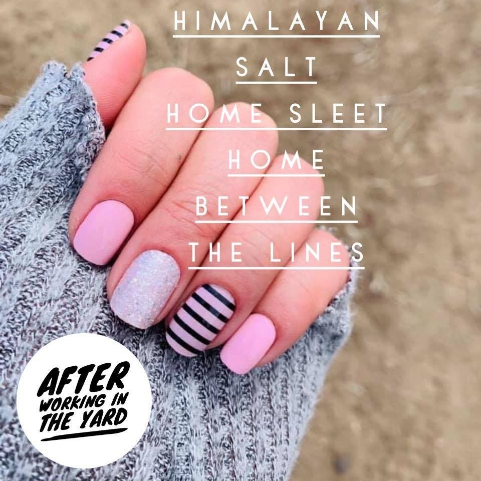 Easy Mixed Mani Done With Color Street S 100 Nail Polish Strips