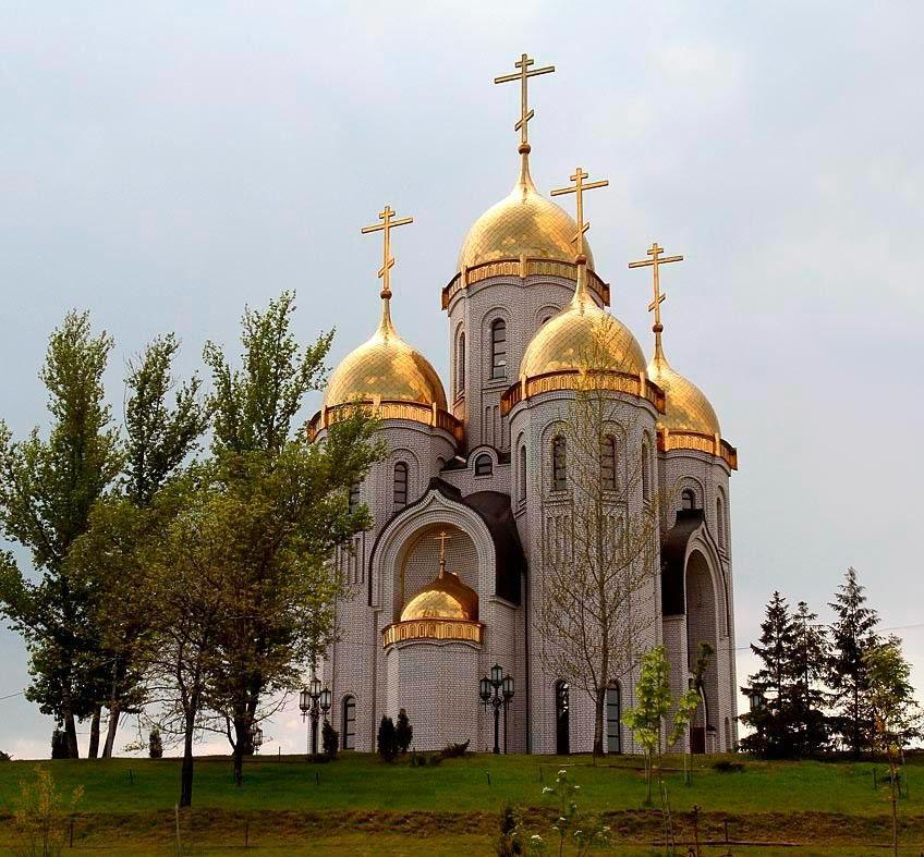 Храм всех святых, Мамаев Курган. Красота православных ...