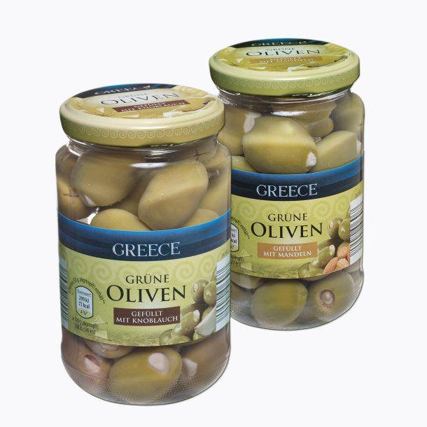 Aldi Nord Grüne Oliven Zeytin