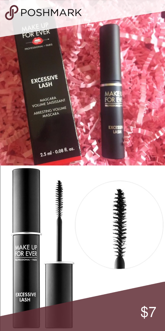 SOLD Make Up Forever Excessive Lash Mascara NWT Mascara