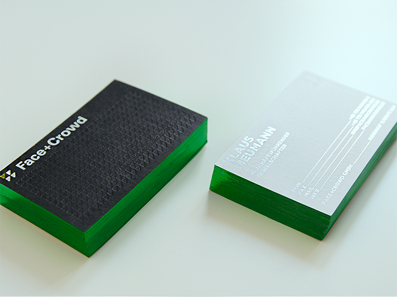 Face+Crowd Business Card | Business cards and Business