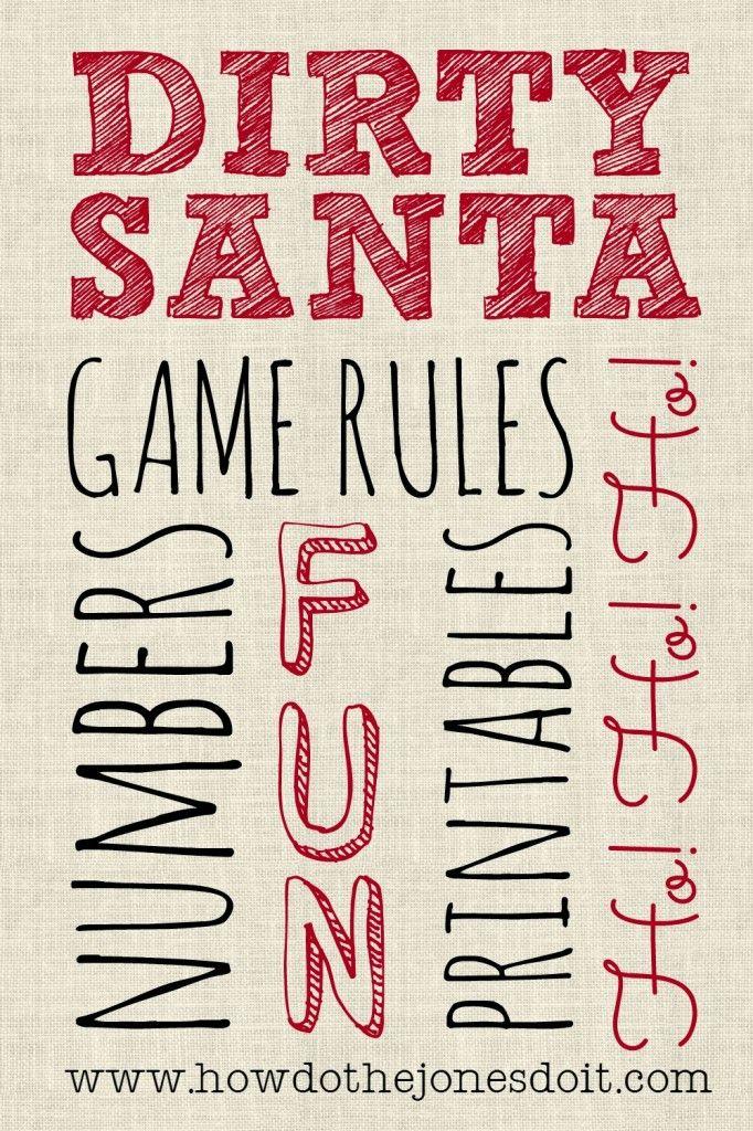 the 25 best secret santa rules ideas on pinterest white elephant game rules christmas gift. Black Bedroom Furniture Sets. Home Design Ideas