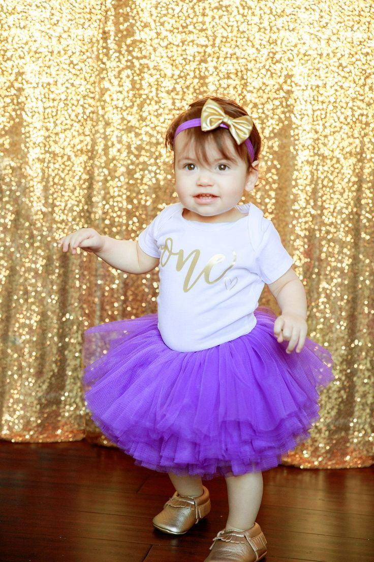 This First Birthday Girl Outfit including a 10 layer soft