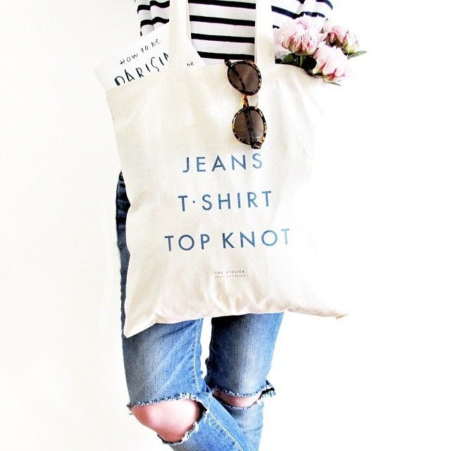 #Uniform tote by The Atelier