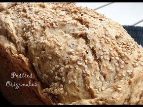 Pan de Sésamo - ¿Cómo se hace? Receta y Vídeo