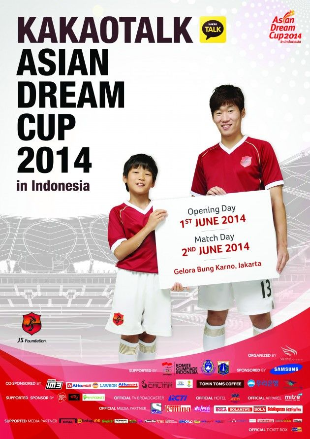 awesome Get ready for KakaoTalk Asian Dream Cup 2014 in Indonesia!