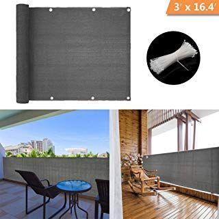 zimo Balkon Sichtschutz UV-Schutz undurchsichtig witterungsbeständig #balconyprivacy