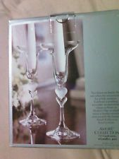 Gorham Amore collection dual hearts crystal candlesticks wedding anniversary pr OPEN BID 14.95