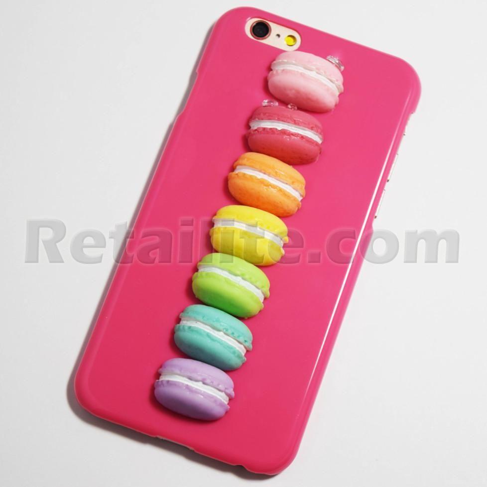 Rose Pink 3D Macarons iPhone 6 / 6S Hard Case - Retailite | Coque ...
