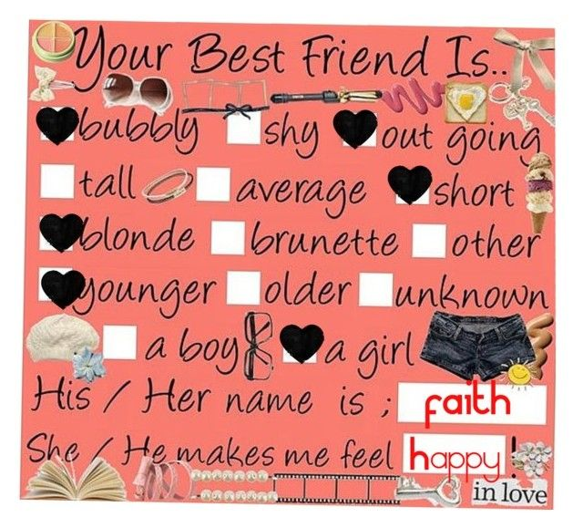 """""""Best Friend"""" by saraiwilks ❤ liked on Polyvore"""