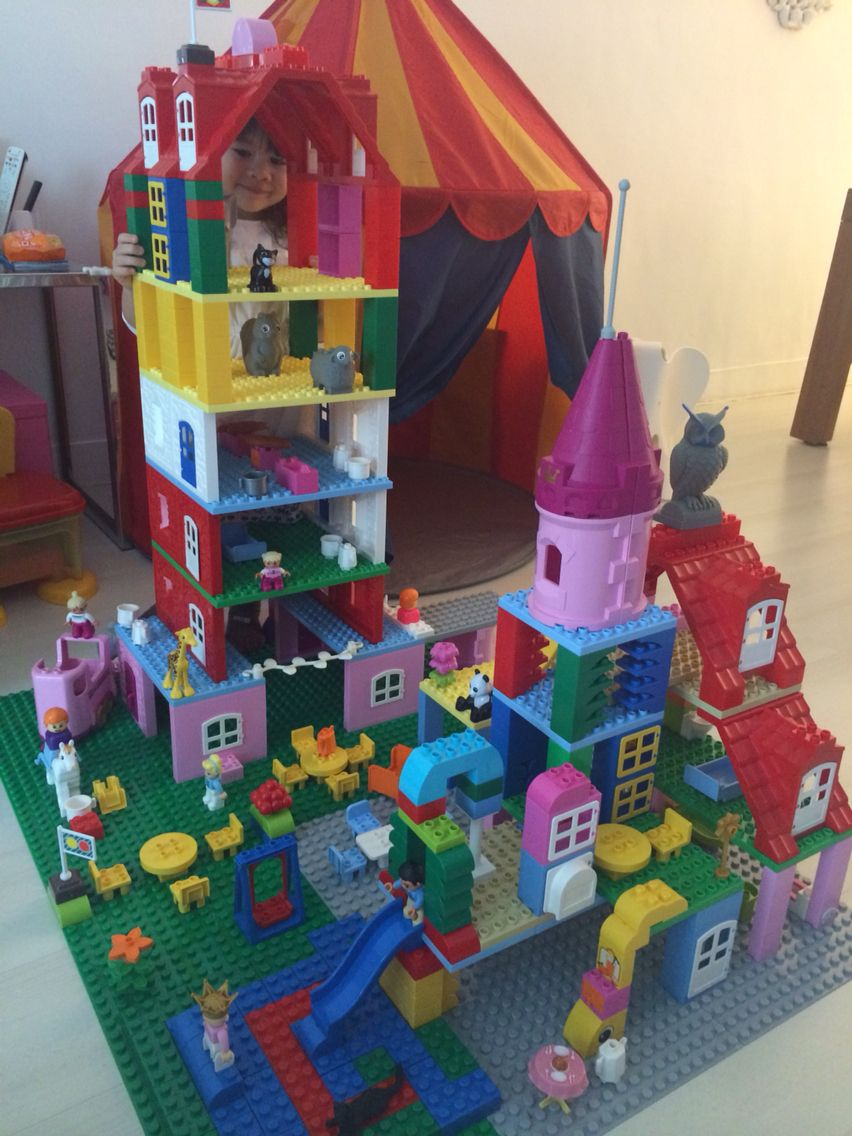 duplo lego castle lego duplo pinterest lego lego ideen und lego projekte. Black Bedroom Furniture Sets. Home Design Ideas