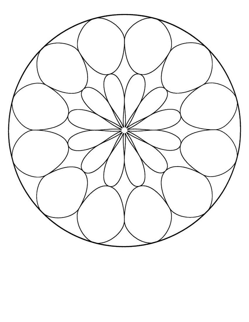 Mandala Color Pages 10   Mosaicos Pepositos   Pinterest   Mandalas ...