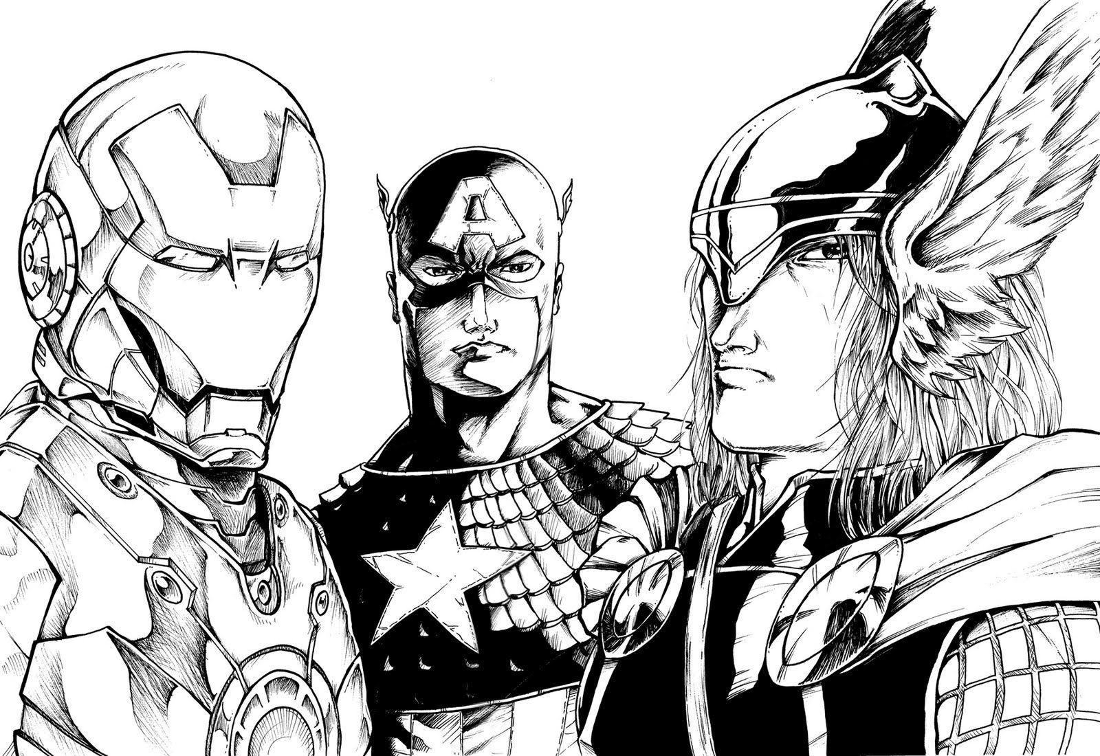 The avengers da colorare org con disegni avengers da for Disegni da colorare iron man