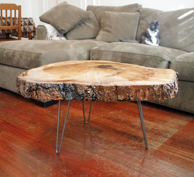 Live Edge Maple And Epoxy Table Raw Wood Coffee Table Wood Table Diy Epoxy Wood Table