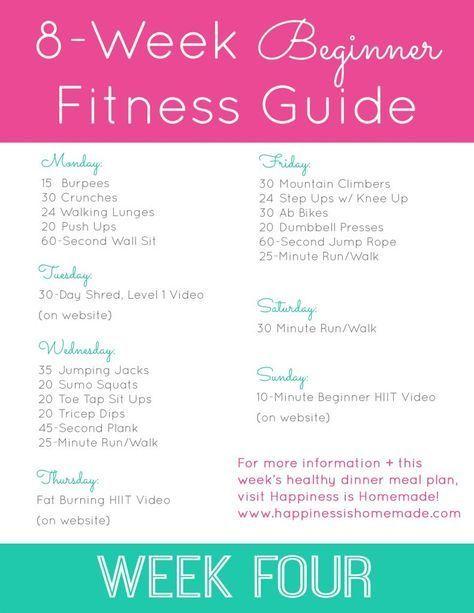 Beginner Fitness Jumpstart: Week 4 #Beginner #Fitness #Jumpstart #Week