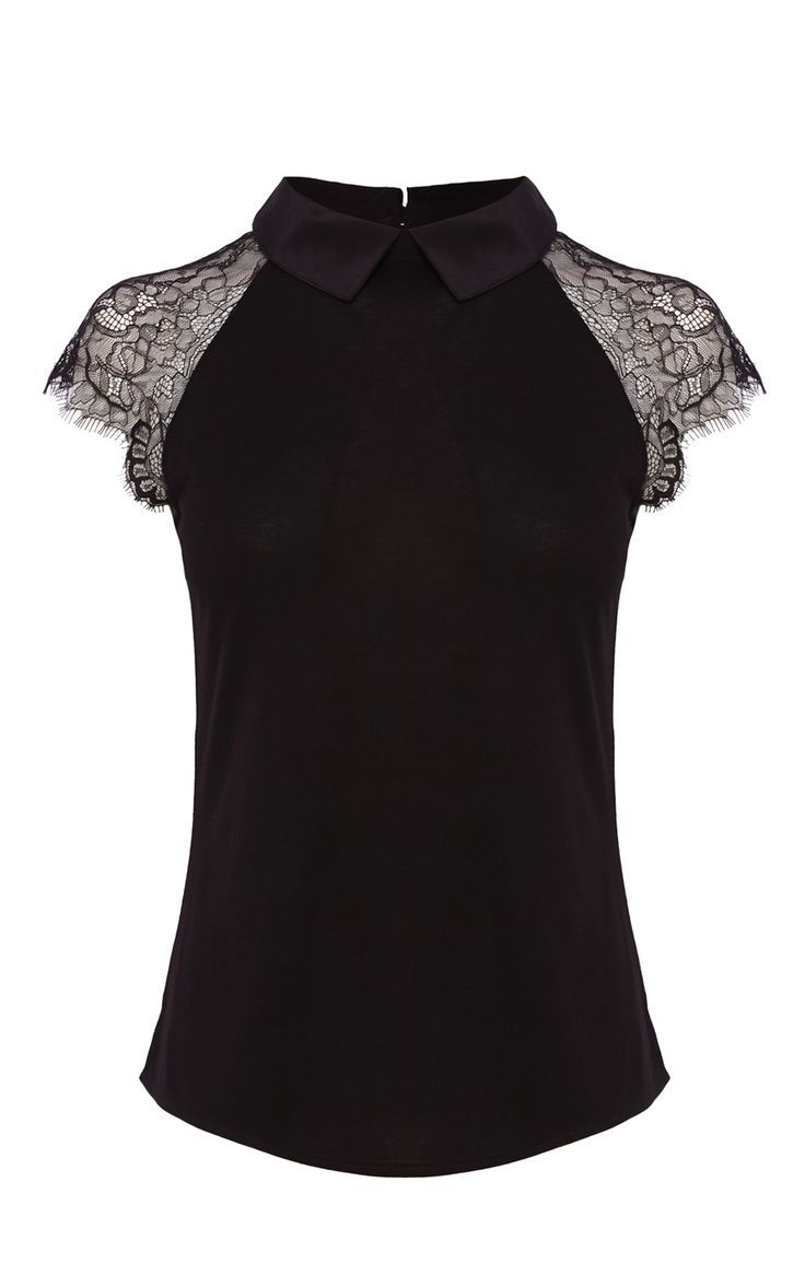 Cool classy party dresses lace short sleeve silk collar jersey top