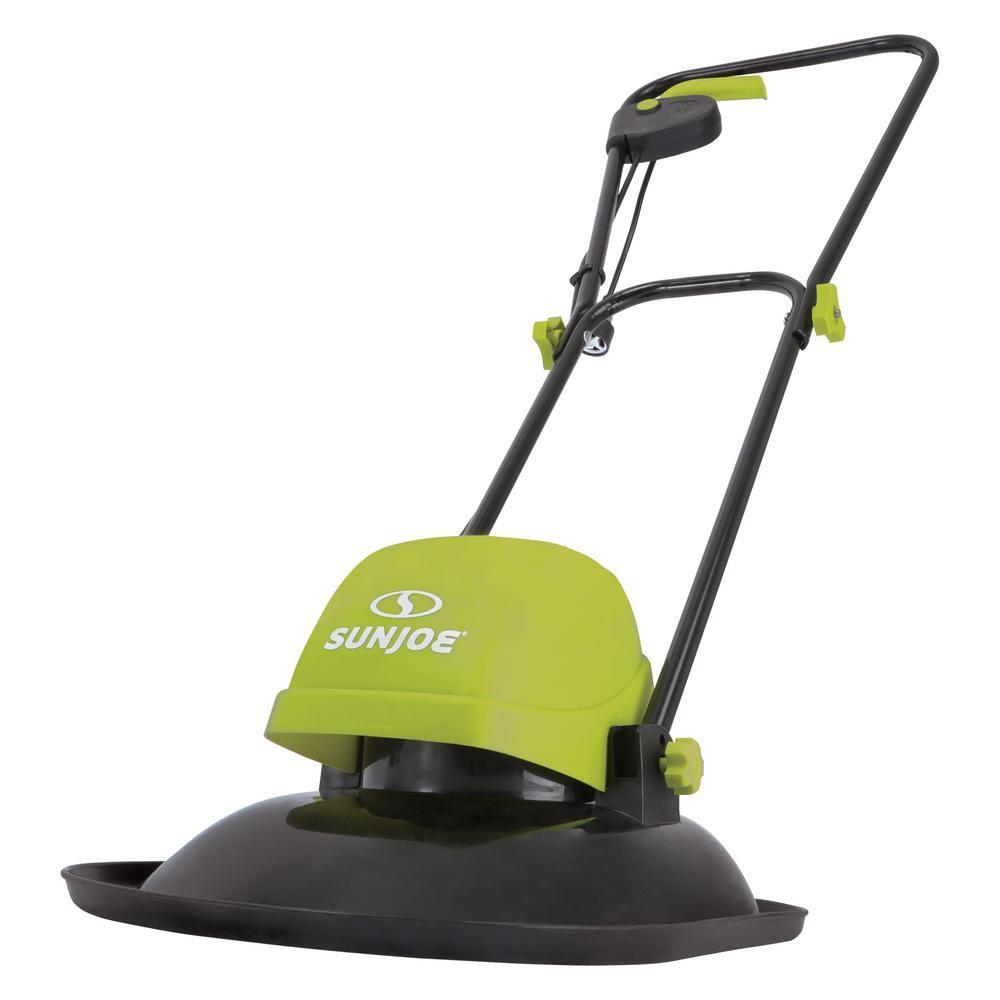Sun Joe 11 In 10 Amp Electric Hover Walk Behind Push Mower In 2019 Walk Behind Mower Lawn Edging Mowers For Sale