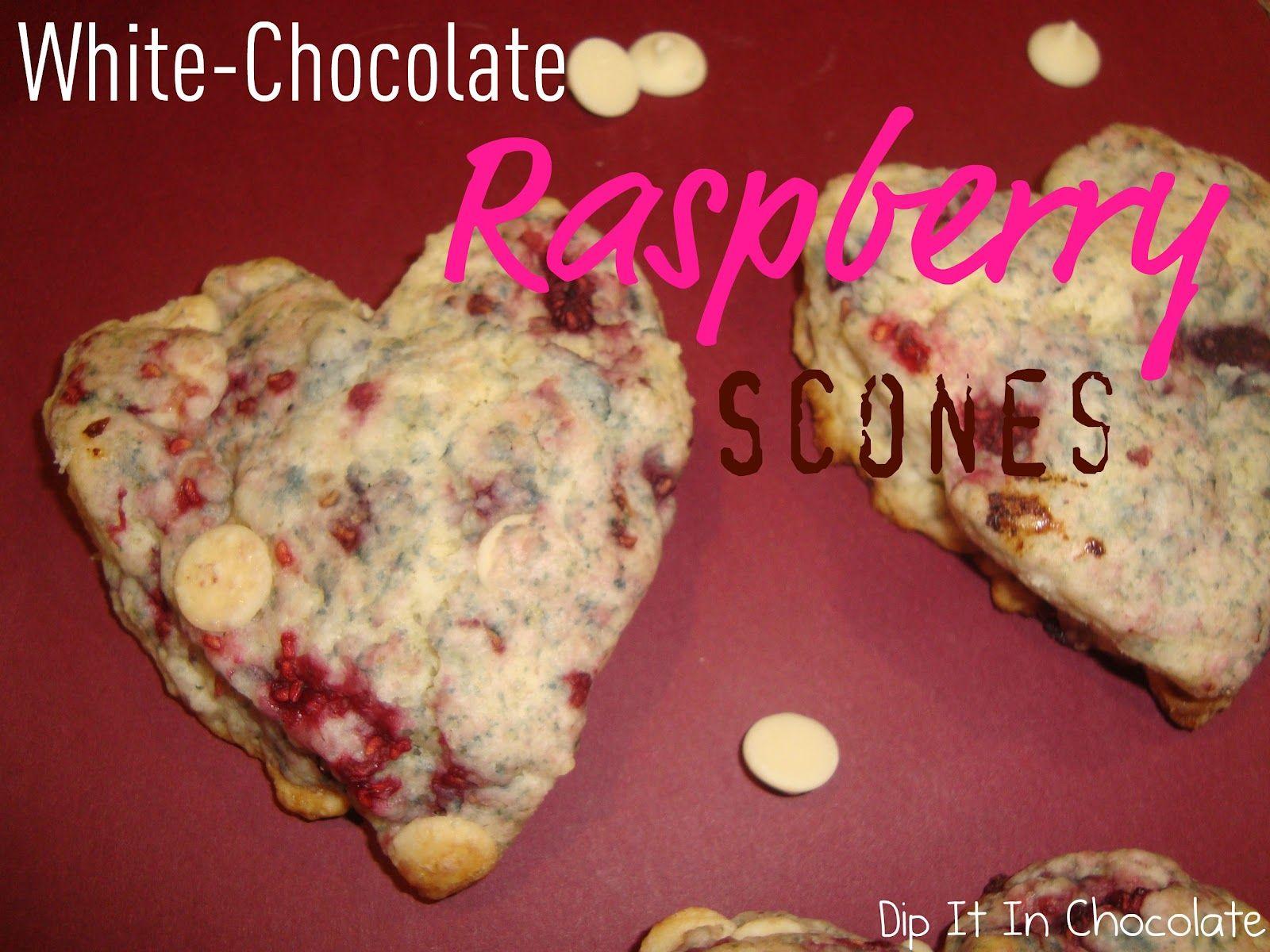 Betty Crocker White Chocolate Raspberry Scone Recipe Made