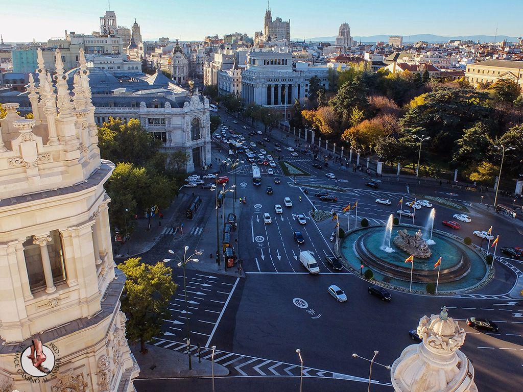 Miradores De Madrid Palacio De Cibeles Madrid Miradores