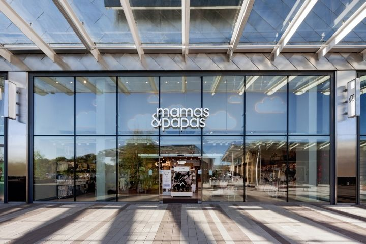 Mamas Papas Store By Dalziel Pow Glasgow UK Retail Design Blog