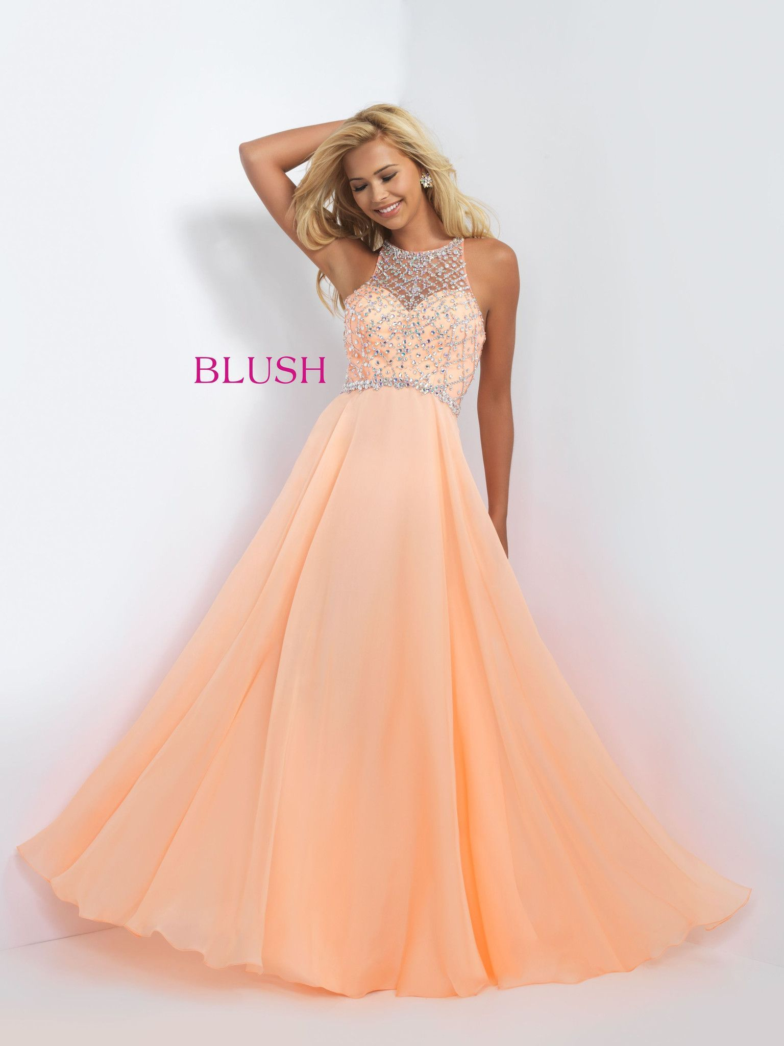 Blush prom dreamsicle dresses to impress pinterest blush