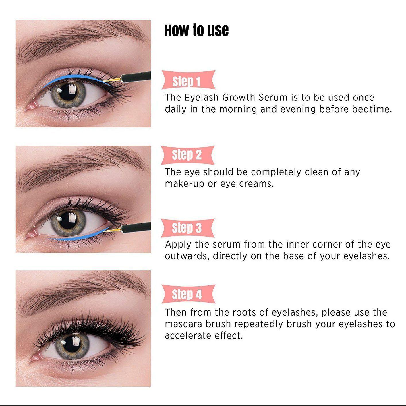 65d30f02479 Natural Eyelash & Eyebrow Growth Serum #inspireuplift #60DayMinimum  #ApplyToCleanEyebrows #BoostsEyebrowAndEyelashThickness #BoostsLashLength  ...
