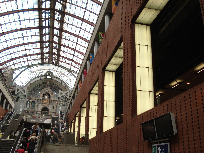 Estación Central de Amberes. Agosto de 2015.