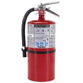 First Alert 10 Lb 4 A 60 B C Commercial Fire Extinguisher Rechargeable Fire Extinguisher Extinguisher Fire Extinguishers