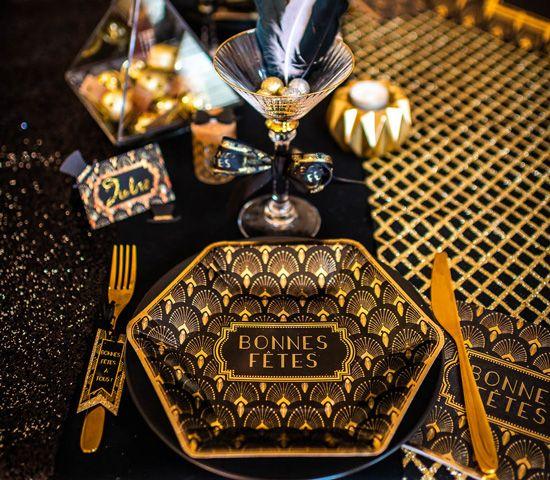 Nouvel An 2019 : astuces pour une déco de table qui pétille !
