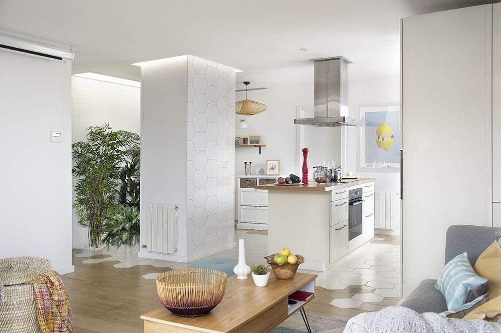 Pin by Elena MQ on Deco | Pinterest | White tiles, House tours and ...