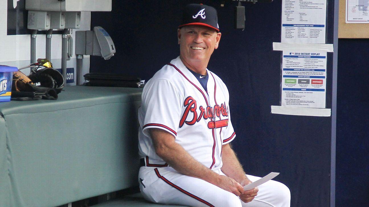 Braves' Snitker named NL Manager of the Year Braves