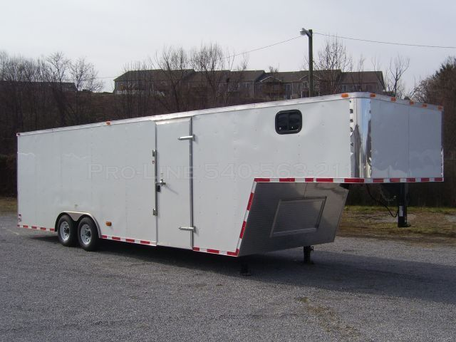 Enclosed Gooseneck Trailers | Trailers from Pro-Line ...