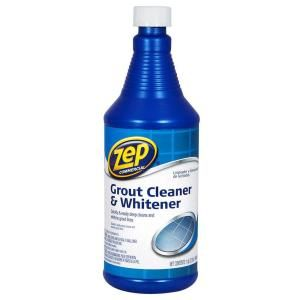 Zep 32 Fl Oz Grout Cleaner And Whitener Zu104632 At The Home Depot Mobile Grout Cleaner Floor Grout Cleaner Tile Grout Cleaner