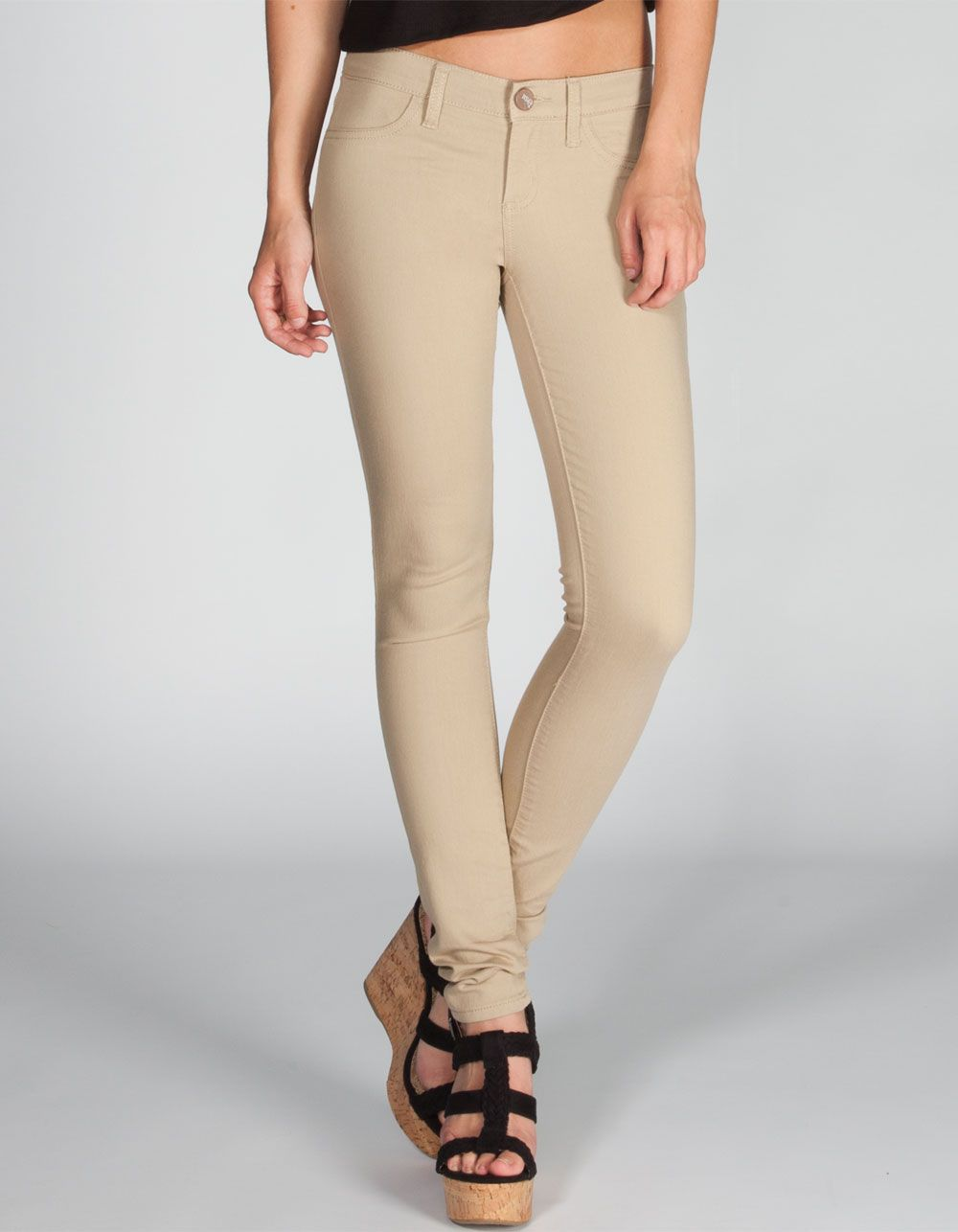 Rsq Miami Womens Jeggings 215411415 Jeggings With Images Womens Jeggings Khaki Jeggings Zipper Leggings