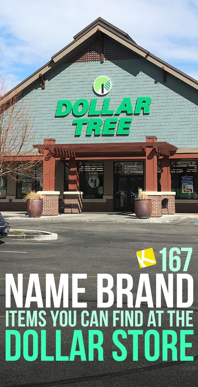 167 Name Brand Items You Can Find at the Dollar Store