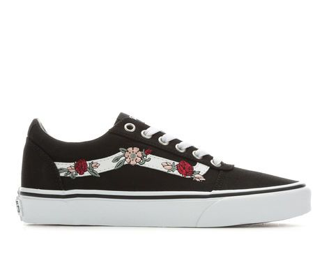 f24c186b9ff8 Women s Vans Ward Floral Skate Shoes