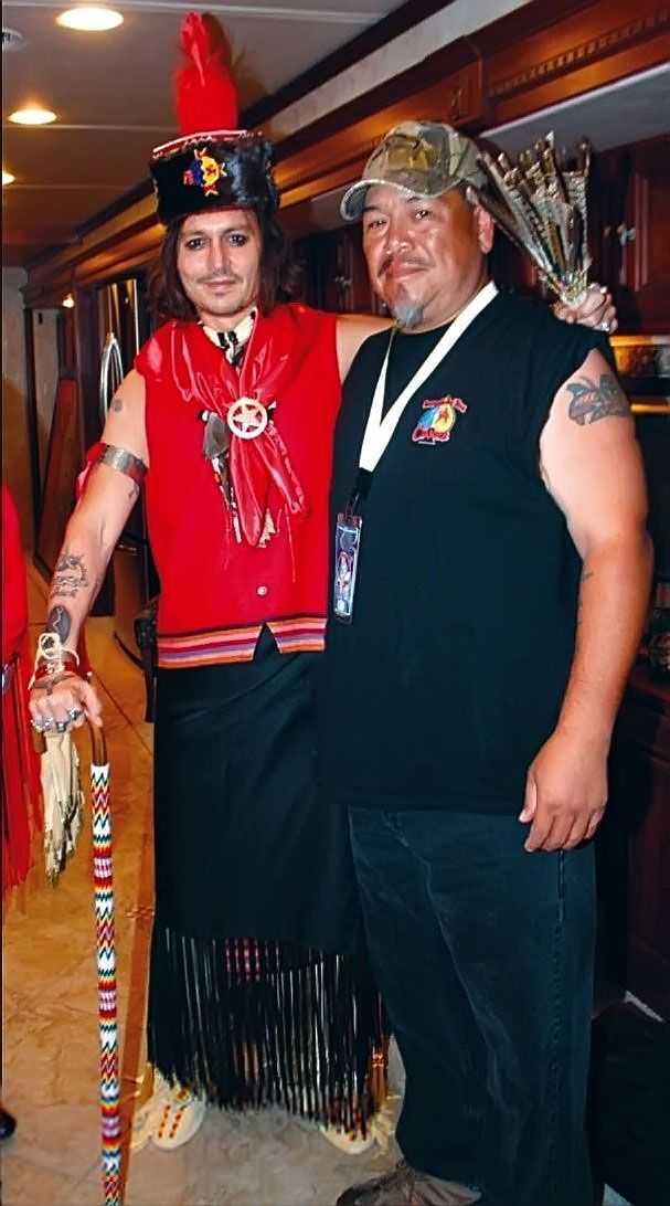 Johnny Depp was adopted to Comanche tribe | Comanche Nation