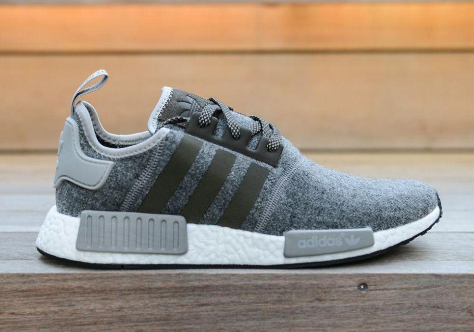 Adidas NMD R1 Runner Grey/Onyx/Black/Blue Sizes 8 13