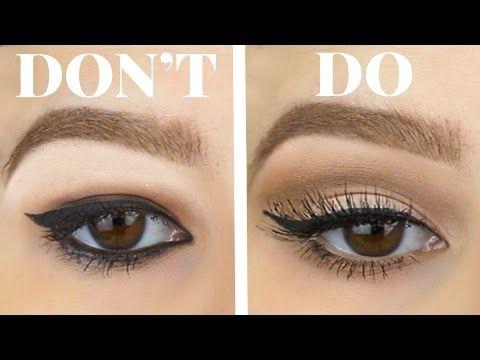 Top 10 simple makeup tutorials for hooded eyes | eye makeup.