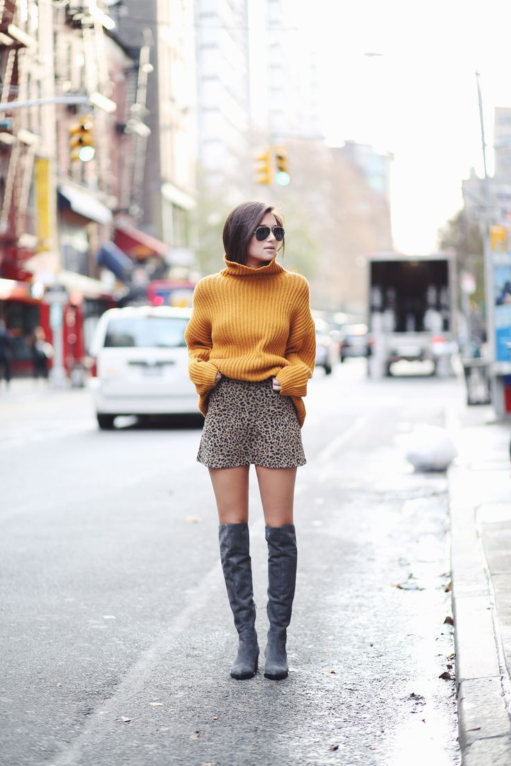 mustard cowl neck sweater | fall   winter style | Pinterest | High ...