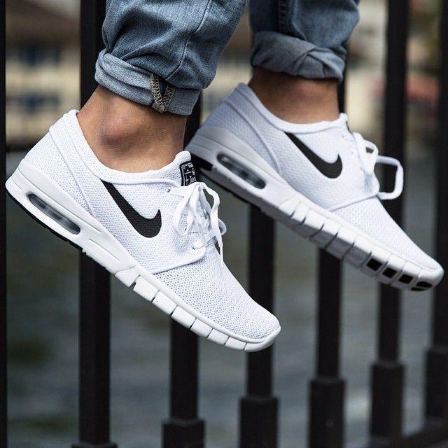 Nike Sb Stefan Janoski Max White Black Zapatillas Nike Para Hombre Zapatillas Hombre Moda Zapatos Deportivos De Moda