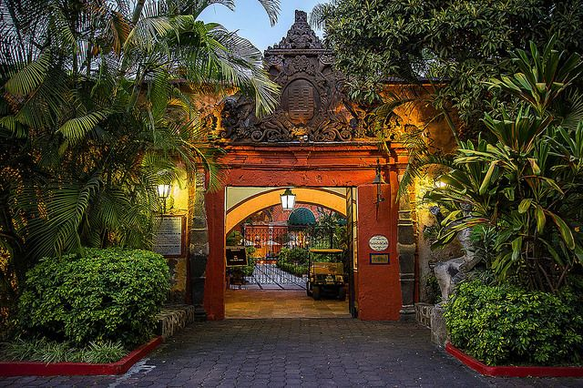 Hacienda de Cortes Entrance, Cuernavaca, Morelos.