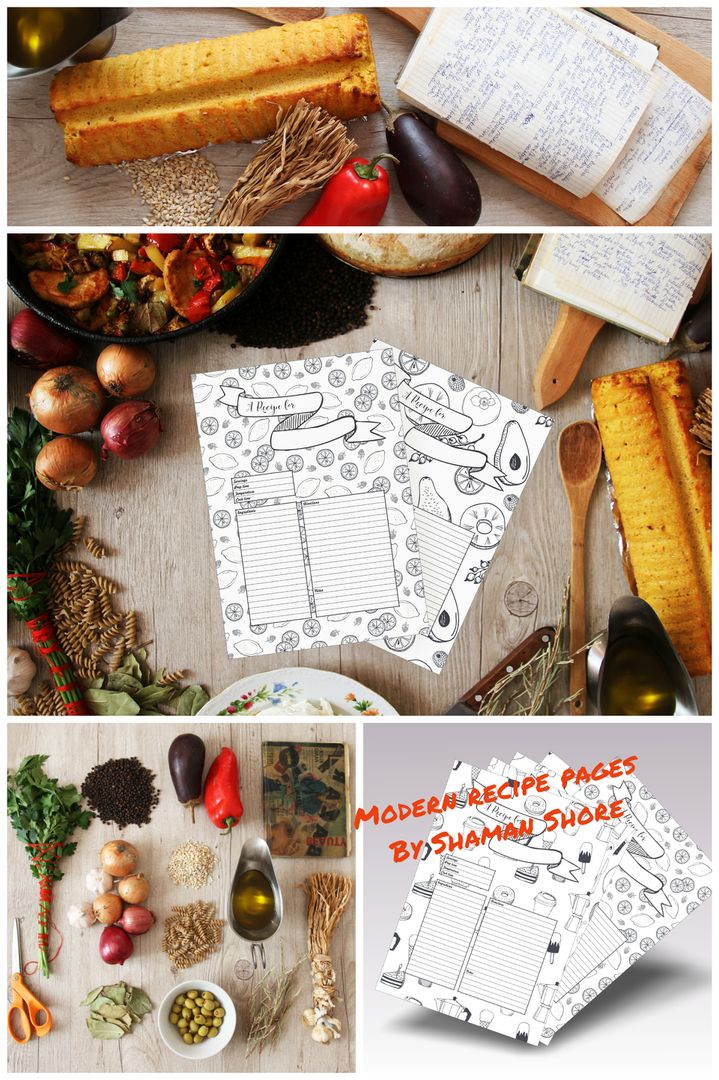 Recipe template recipe planner happy planner templates recipe blank recipe cards fun printable recipe templates happy recipe planner sheets recipe pages forumfinder Choice Image