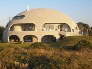 Монолитный купольный бетонный дом | Дизайн внешнего вида дома, Купольные дома, Архитектурный дизайн