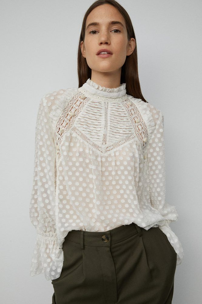 Camisas Y Blusas Mujer Nueva Colección Sfera Moda Pantalones De Pijama Vestidos Y Faldas