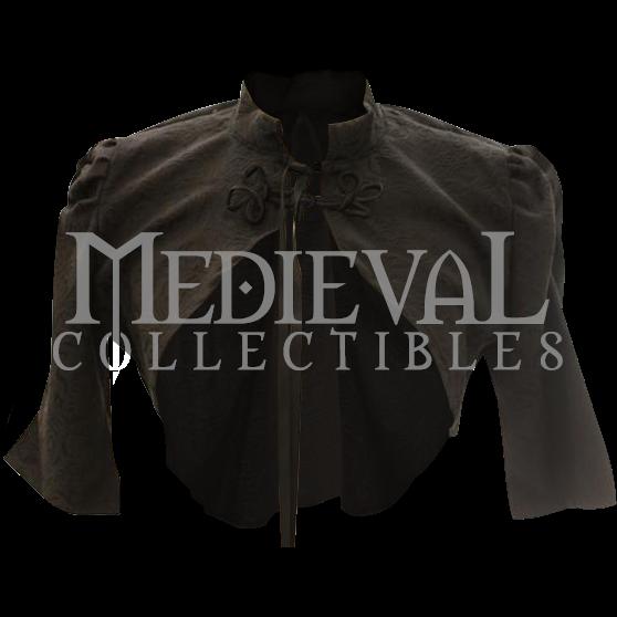 c01a1d7331 Steampunk Brocade Bolero Jacket in 2019   Stuffs   Bolero jacket ...